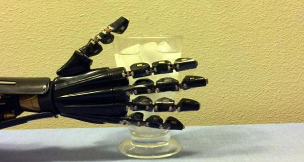Artificial Skin Gives Robotic Hand The Sense of Touch