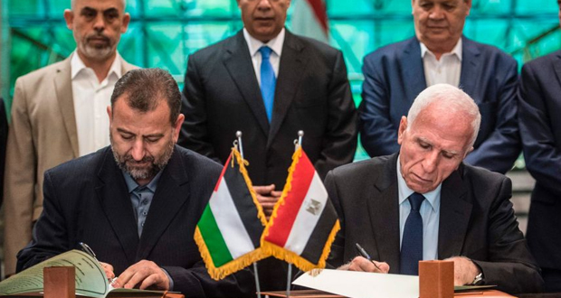 Hamas, Fatah Sign Agreement to End Decade Long Split