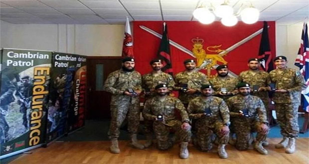 Pakistan Army Bags Gold in UK's Exercise Cambrian Patrol