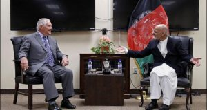 Tillerson Discusses US Strategy With Afghan Leadership