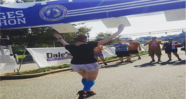 Woman Sets New Record for Running Marathon in High Heels