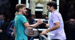 Young Goffin Beats Federer in ATP Finals