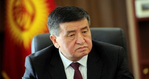 Sooronbai Sworn in As New President of Kyrgyzstan