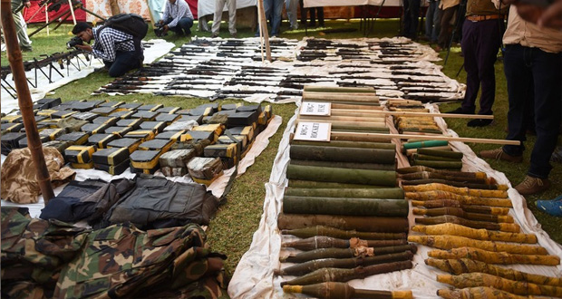 FC Apprehend Two Terrorists, Recover 46kg Explosives