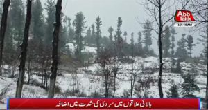 Cold Increases in Upper Areas of Pakistan