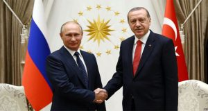 Erdogan, Putin Warn of Further Tension Over US Jerusalem move