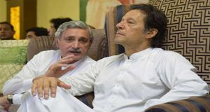 Imran Calls on Tareen  After SC Decision