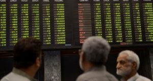 KSE Index Gains 267 Points, Closes At 39, 933