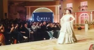 Saba Qamar Keeps the Show on Despite Runway Fall