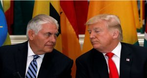 Tillerson Prints Out Trump's Tweets to Help Set Foreign Policy