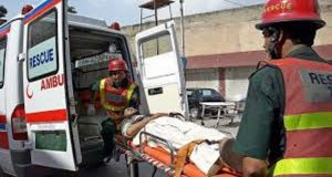 Six Persons Injured In Road Accident