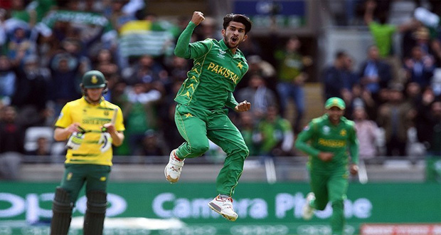 Hasan Ali Named 'Emerging Player of Year' in ICC Awards 2017