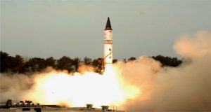 India Tests-Fires Nuclear Capable ICBM