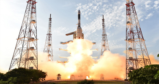 India Launches Rocket Carrying Dozens of Satellites