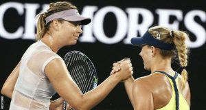 Angelique Kerber Beats Maria Sharapova In Australian Open