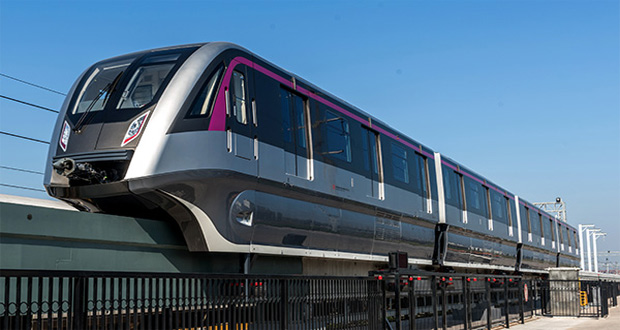 Country's First Driverless Monorail Introduced in China