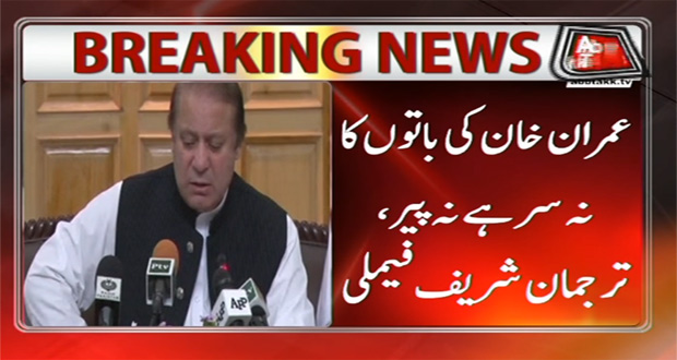 """Sharifs Rejects Imran Allegations Terming As """"Ridiculous"""""""