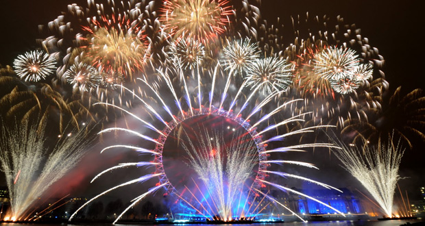New Year Celebrations World Wide in Pictures