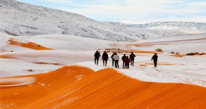 Sahara Desert Receives Third Snowfall in 40 Years