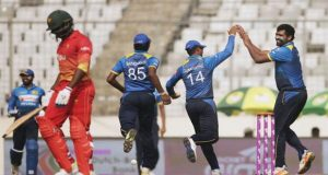 Parera Stars As Sri Lanka Beats Zimbabwe In Try Nation Series
