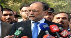 Ahsan Iqbal Casts Fresh Doubts on Senate Elections in March