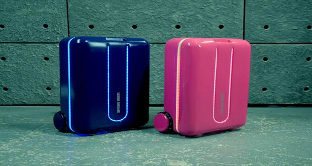 The Suitcase That Moves Itself