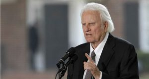 Renowned Evangelist Billy Graham Dies At 99