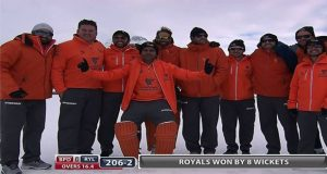 Ice-Cricket: Afridi XI Stoles Show as They Beat Sehwag XI