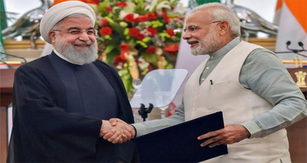 India, Iran Sign Pact During Rouhani Visit on Leasing Port