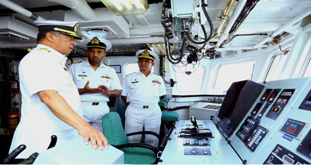 Malaysian Naval Chief Visits Pak Navy Lhr, Khi Field Commands