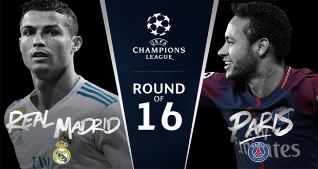Champions League: RM To Take On PSG On Thursday