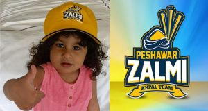 Hafeez's Baby Shares Best Wishes For Zalmi
