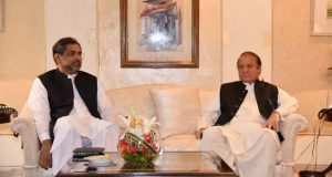 PM Abbasi, former PM Nawaz Discuss Overall Political Situation