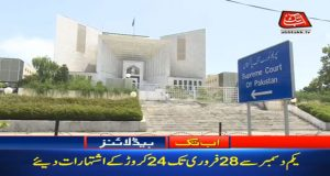 Rs240m Spent On KPK Ads During Last 3 Months, SC Told
