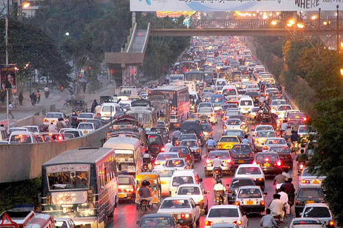 PSL Security: Massive Traffic Jam in the City