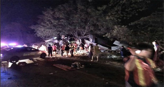 17 Killed in An Accident in Thailand