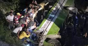 19 Dead After The Bus Plunges Off Philippine Cliff