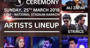 Leading Pakistani Singers to Rock PSL Closing Ceremony