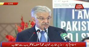 Nation Stands United in Fight Against Terrorism: Khawaja Asif
