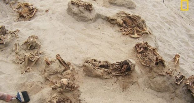 Mass Human Sacrifices Marks Discovered In Peru