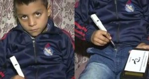 """Kashmiri Child Invents """"Counting Pen"""""""