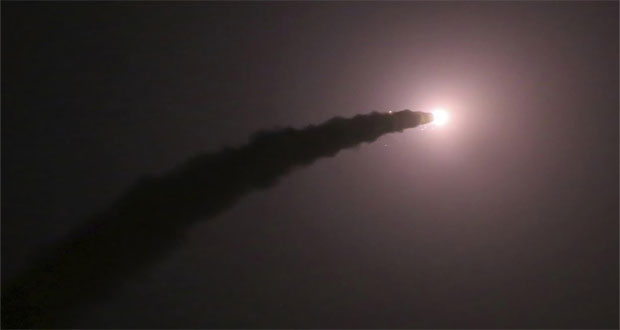 Saudi Arabia Shoots Down Missile Fired By Houthi Rebels