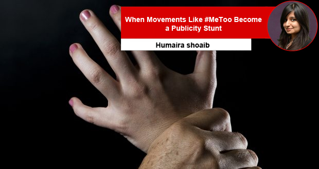When Movements Like #MeToo Become a Publicity Stunt