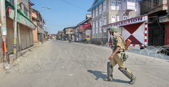 Complete Shutter In Indian Occupied Kashmir