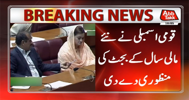 National Assembly Passes Budget 2018-19