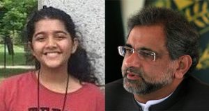 PM Abbasi Visits Family Of Slain Sabika Sheikh