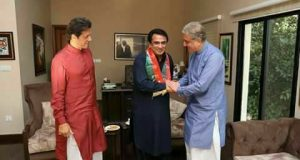 Former PPP MNA from Larkana Shahid Bhutto Joins PTI