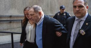 Hollywood Producer Weinstein Charged With Rape