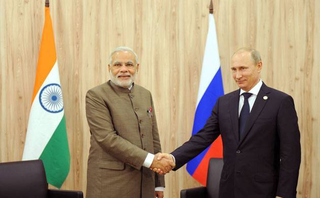 Modi Meets Putin In Russia