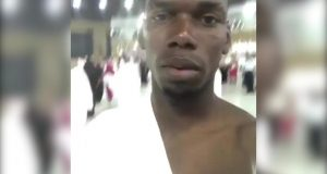 Manchester United Footballer Paul Pogba Performs Umrah